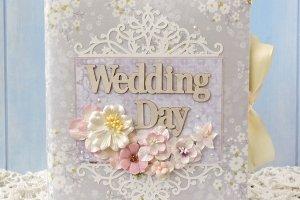 Свадебный подарок свадебный фотоальбом Lavander - Опис
