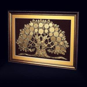"""Работа Подарок мужчине, денежное дерево """"Дуб""""."""
