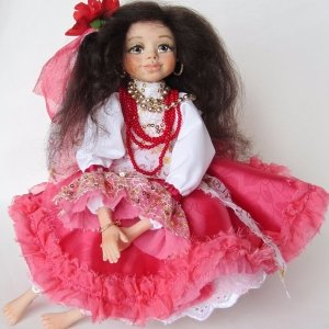 Робота Кукла цыганочка Рада