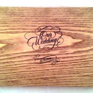 Работа Весільні фотоальбоми з дерева