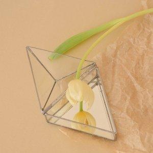 Робота Треугольная шкатулочка с зеркальным дном