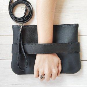 """Робота Черный клатч - сумочка через плечо """"CarryMe"""""""
