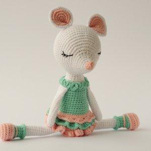 Робота Іграшка для дівчинки Мишка балеринка