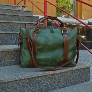 """Робота Кожаная сумка для ноутбука 17 дюймов """"Style Men"""""""