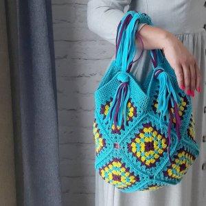 Робота Сумка-бохо, сумка на лето, сумка для отпуска