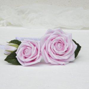 Робота Обруч с розами, Ободок с розовыми цветами