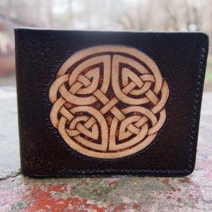 Робота Кожаный кошелек Кельтика