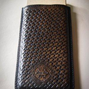 Робота Кожаный чехол карман для телефона