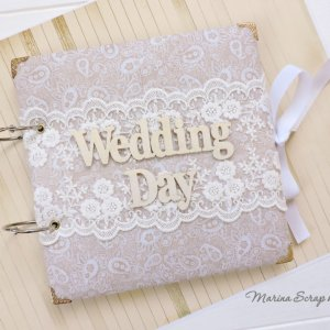 Работа Свадебный подарок свадебный фотоальбом Qween