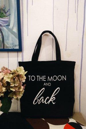 """Дизайнерская сумка-шопер """"Black"""""""
